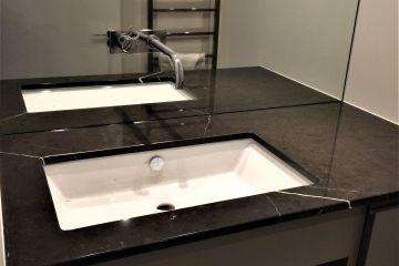 Nero Marquina Vanity Unit