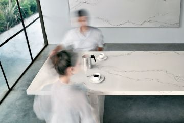 Calacatta Quartz Table Top