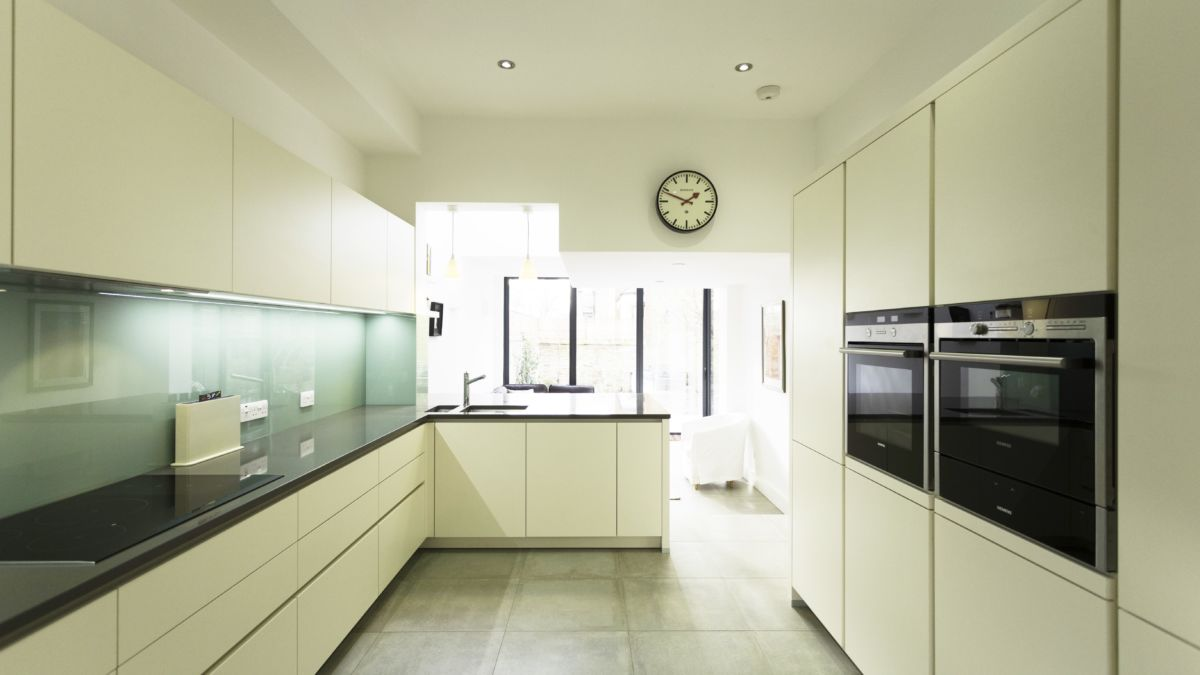 Torquay Green Glass Splashback