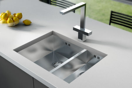 ZEN DUO Undermounted Sink