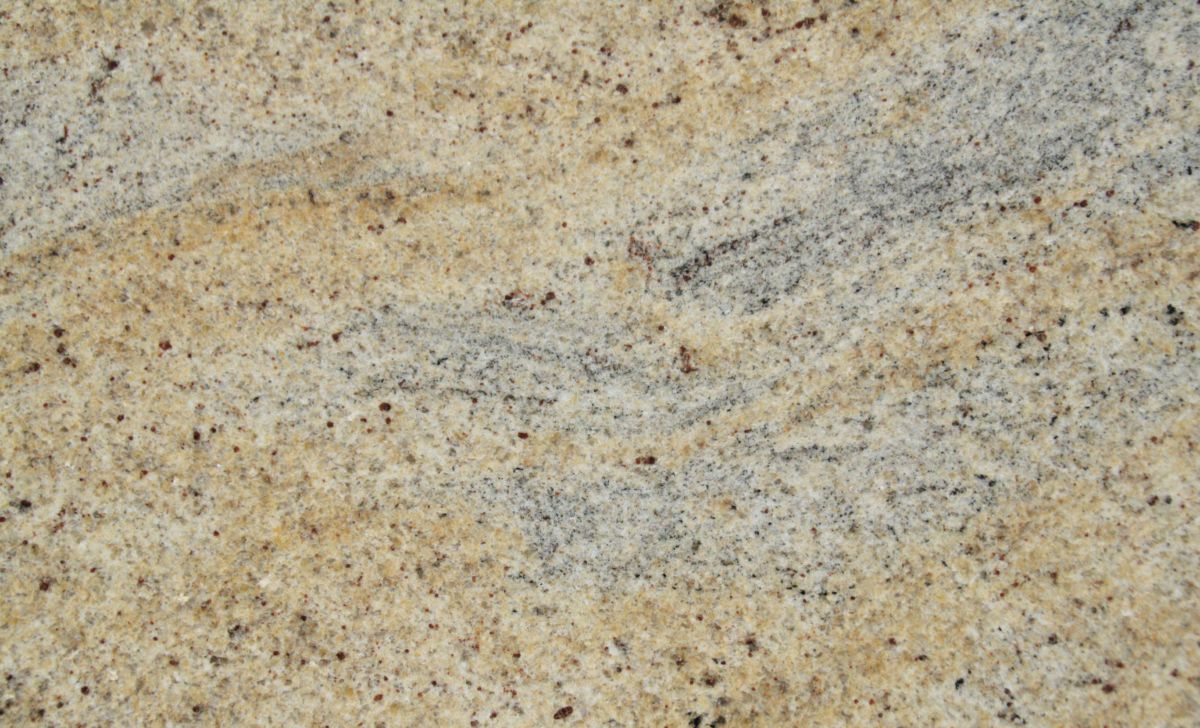 Full slab 30mm Kashmir Gold granite, approx 2000 x 3100